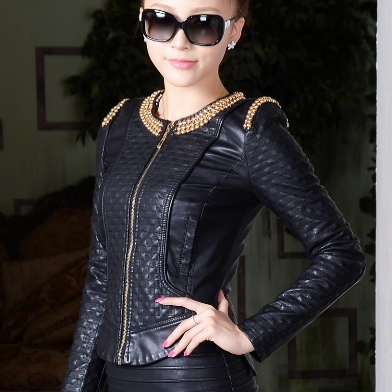 Leather-Jackets-for-Women-in-2016-52 62 Most Amazing Leather Jackets for Women in 2019