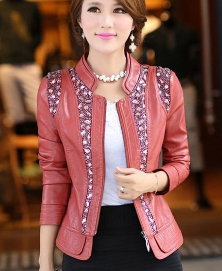 Leather-Jackets-for-Women-in-2016-54 62 Most Amazing Leather Jackets for Women in 2019