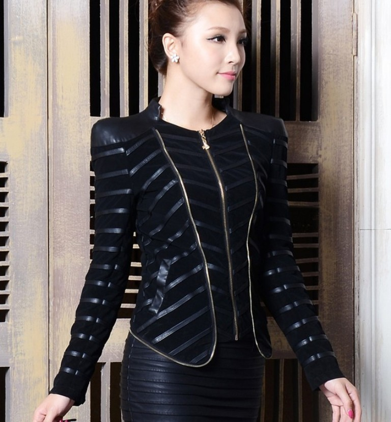 Leather-Jackets-for-Women-in-2016-58 62 Most Amazing Leather Jackets for Women in 2019