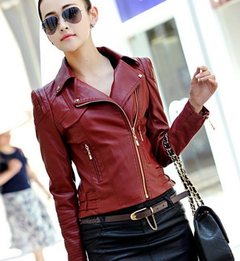 Leather-Jackets-for-Women-in-2016-60 62 Most Amazing Leather Jackets for Women in 2019