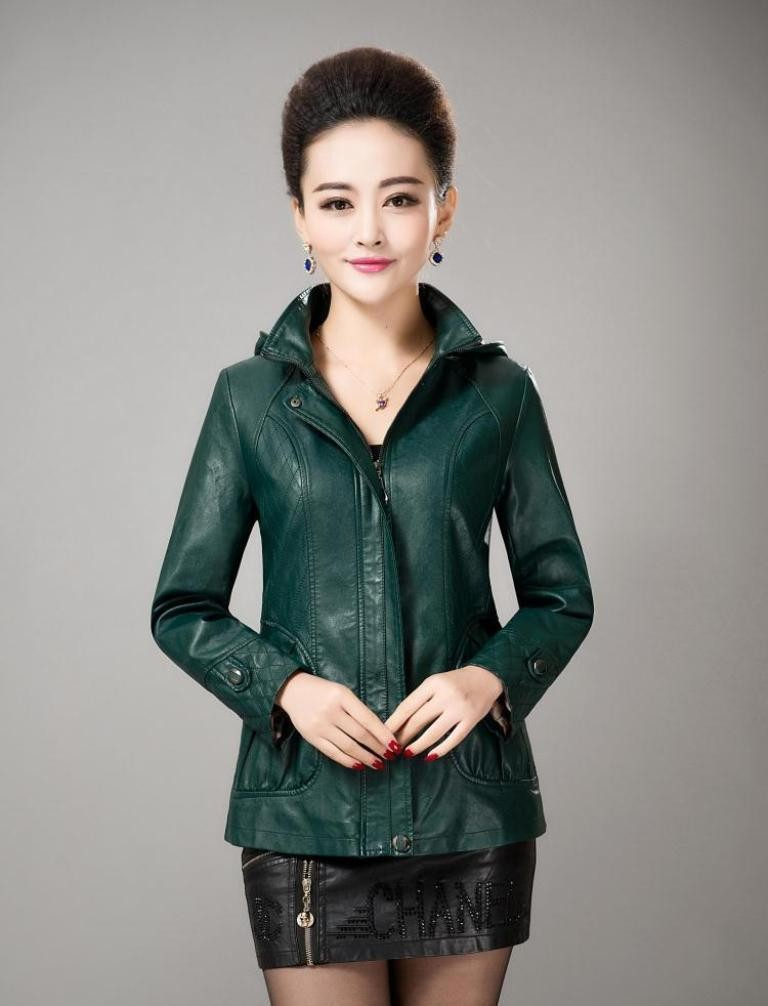 Leather-Jackets-for-Women-in-2016-61 62 Most Amazing Leather Jackets for Women in 2019