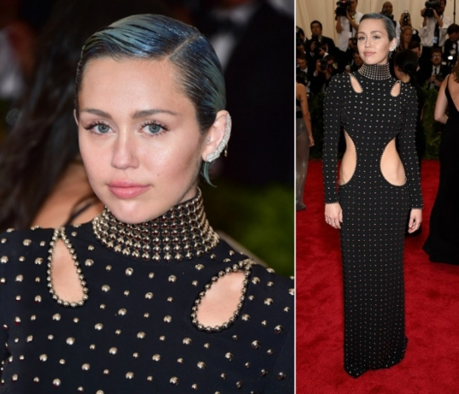 Miley-Cyrus-in-Met-Gala-2015 15 Worst Celebrity Hairstyles ... [You Will Be Shocked]
