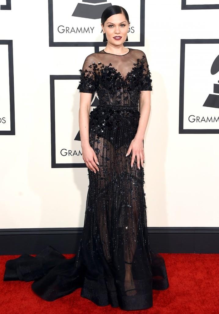Singer-Jessie-J-in-Grammys-2015 15 Worst Celebrity Hairstyles ... [You Will Be Shocked]