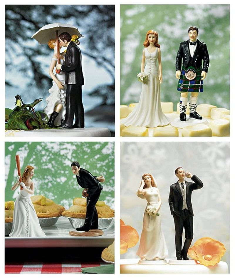 6a0112793a50c128a40120a83c3c6e970b-800wi Top 10 Most Unique and Funny Wedding Cake Toppers 2017