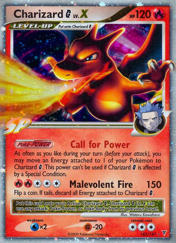 Charizard-G-LV.X-Supreme-Victors-SV-143 Top 10 World's Most Expensive Pokémon Cards 2018-2019