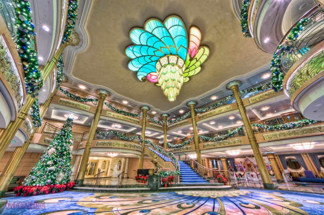 DCLBlog_DSC_4794And11more-Edit_Disney-Fantasy-Atrium-Lobby-Christmas-Decorations Top 10 Best Carnival Cruises in 2015