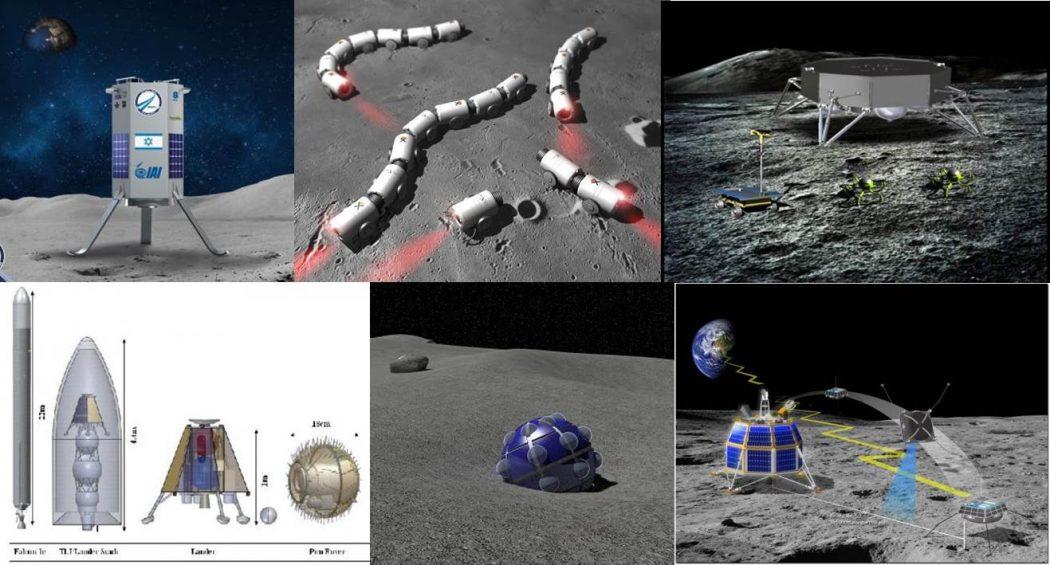 Google-Lunar-X-Prize-Composite-Team-Picture Best 7 Solar System Project Ideas