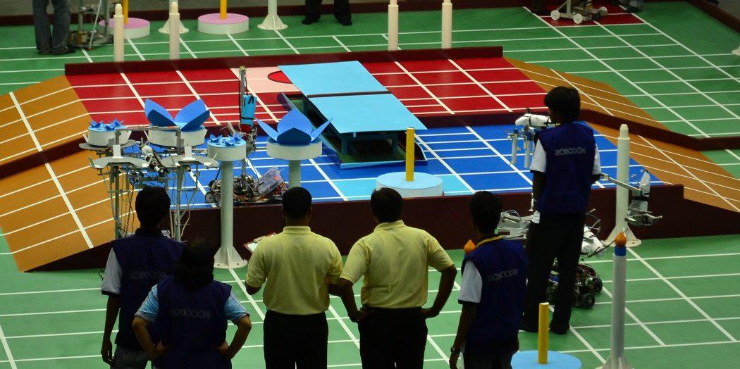 Robocon_India_2011 Top 10 Robotics Competitions Ever