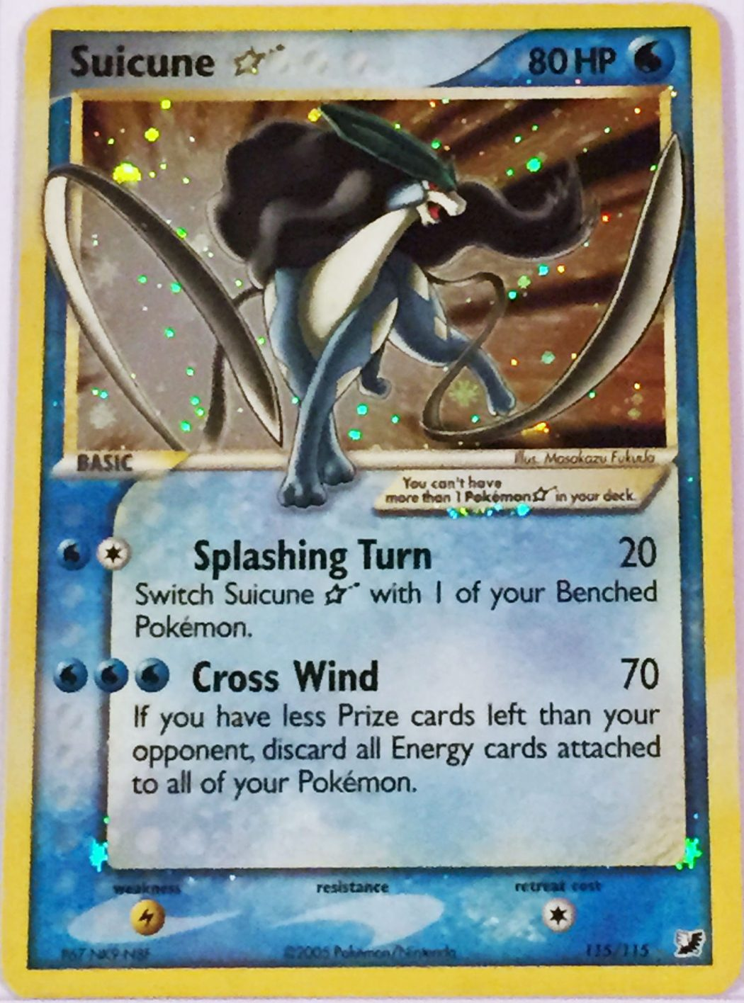 Suicune-Gold-Star-Unseen-Forces-Set-Holo Top 10 World's Most Expensive Pokémon Cards 2018-2019