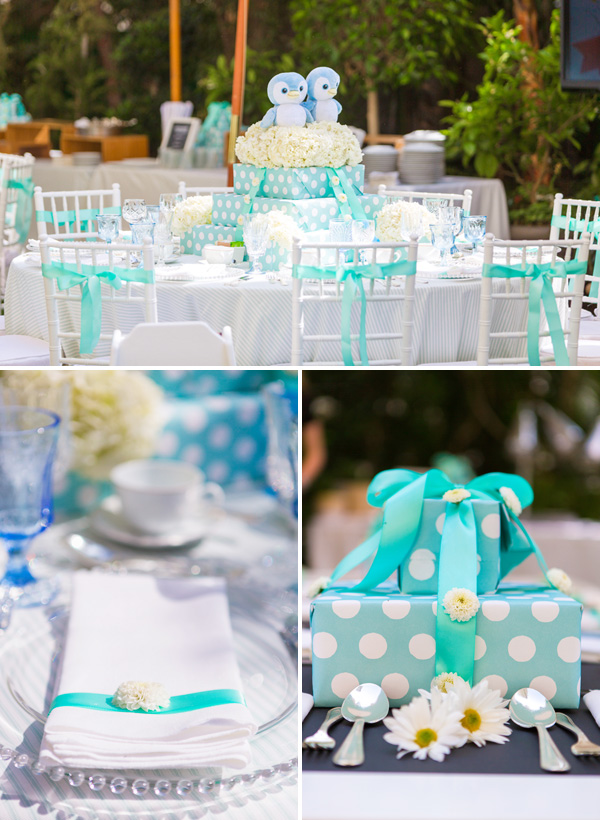 blue-white-tablescapes Top 10 Most Unique and Funny Wedding Cake Toppers 2019