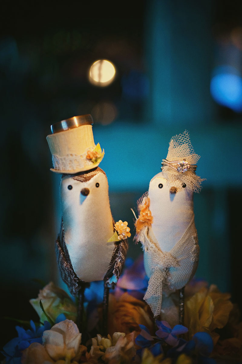 handmade-wedding-cake-topper-ideas-birds Top 10 Most Unique and Funny Wedding Cake Toppers 2019
