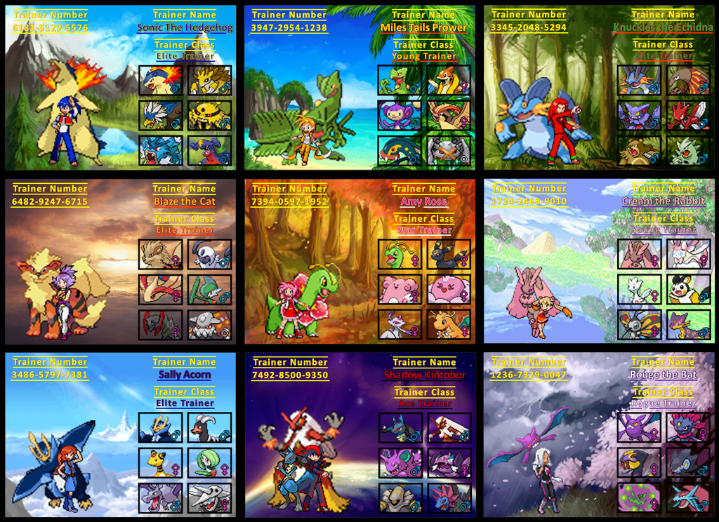sonic_trainer_cards_advanced_by_rudolphtheehcidna-d6h7ceq Top 10 World's Most Expensive Pokémon Cards 2018-2019