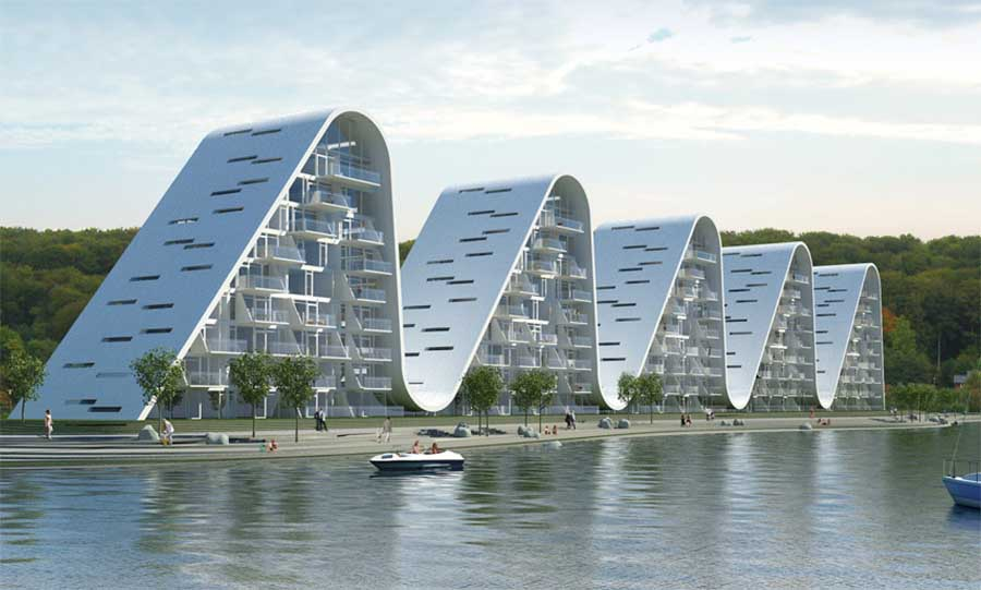 the_wave_vejle_h130910_7 Top 10 Most Beautiful Buildings in the World in 2015