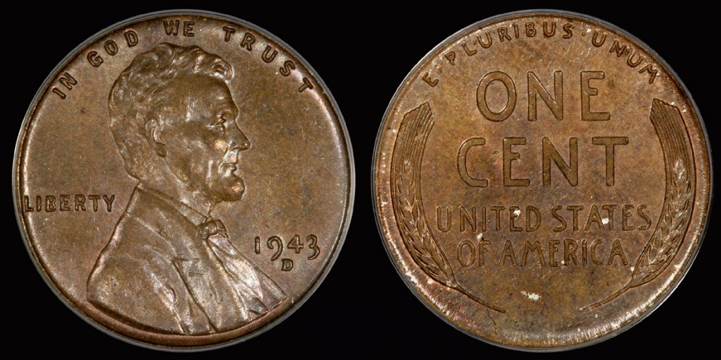 1943-wheat-penny Top 10 Strangest Pennies Stories in the World