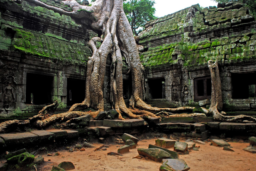 Angkor-Temple Top 10 Most Ancient Lost Cities in the World