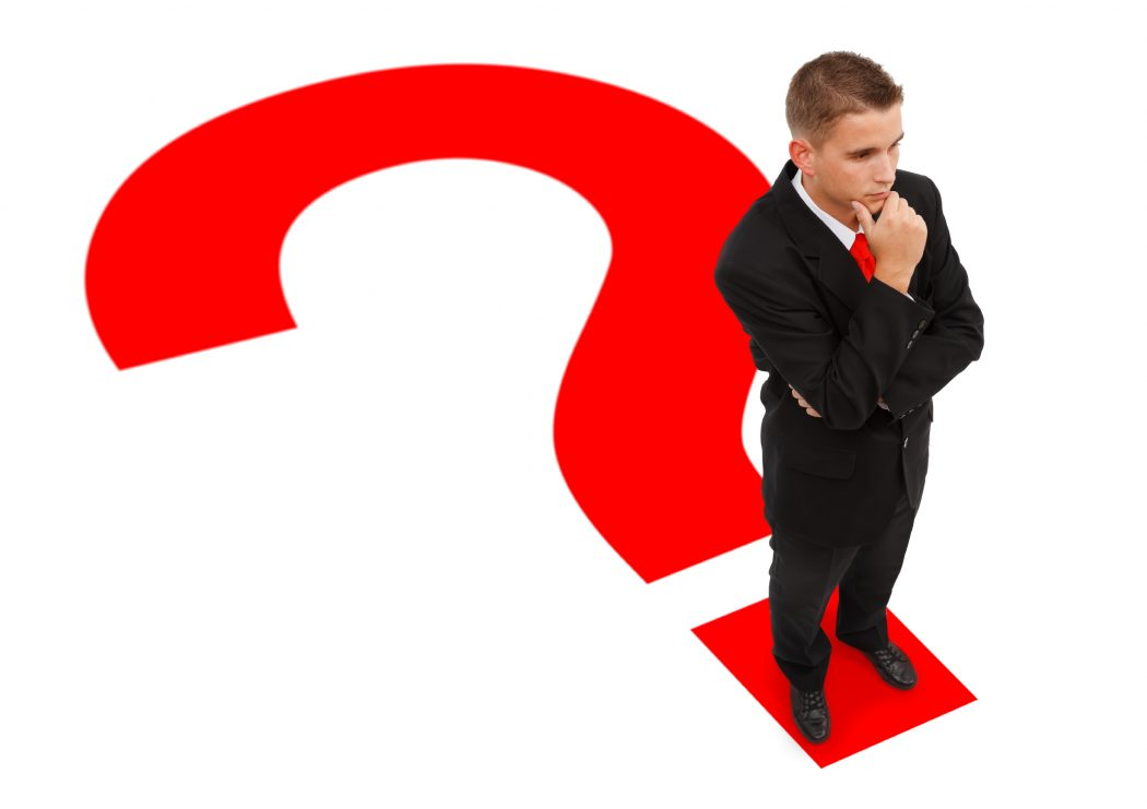 Businessman-on-question-mark Top 10 Ways to Ask Dumb Questions