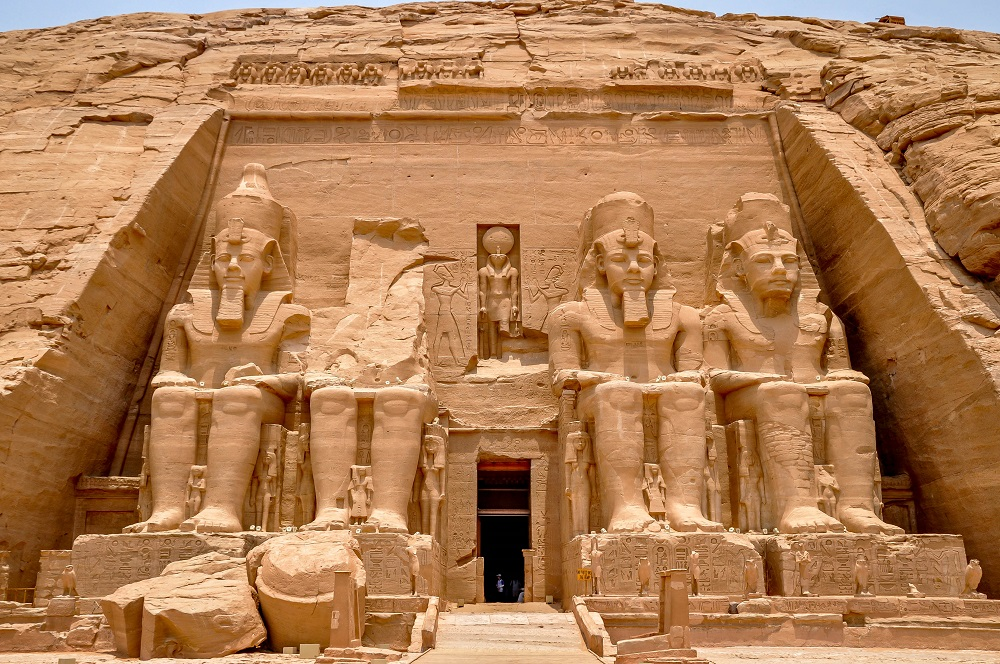 Egypt-Abu-Simbel-front Top 10 Most Ancient Cities in Arabic Countries