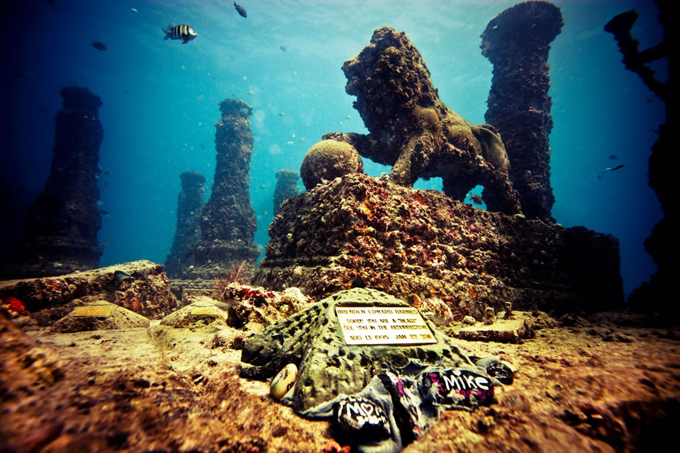 Neptune-Memorial-Reef-off-Key-Biscayne-in-Miami-Florida-memorial-for-cremated-remains Top 10 Most Ancient Lost Cities in the World
