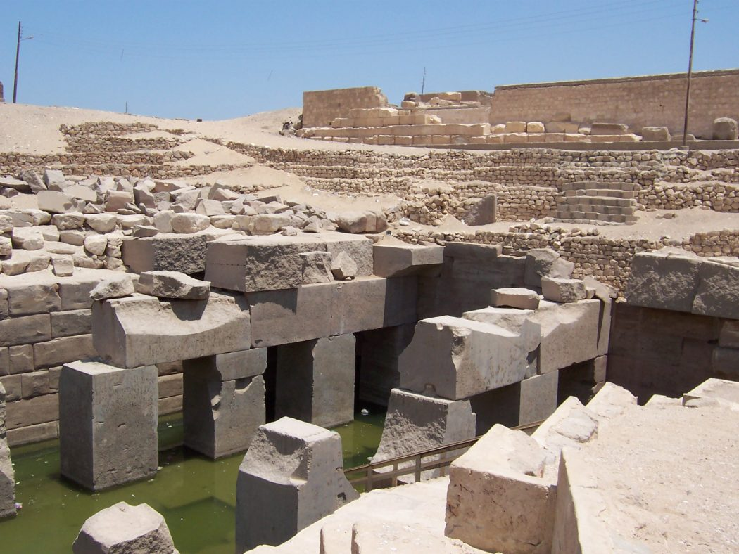 Osireion Top 10 Most Ancient Cities in Arabic Countries