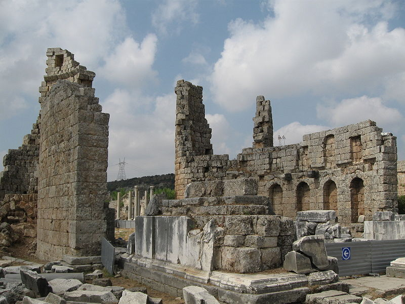 Perge-antalya-01 Top 10 Most Ancient Ruins in Turkey