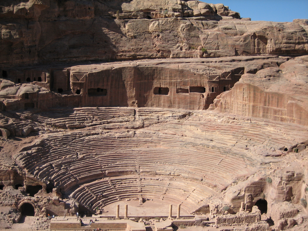Petra-Theater Top 10 Most Ancient Lost Cities in the World