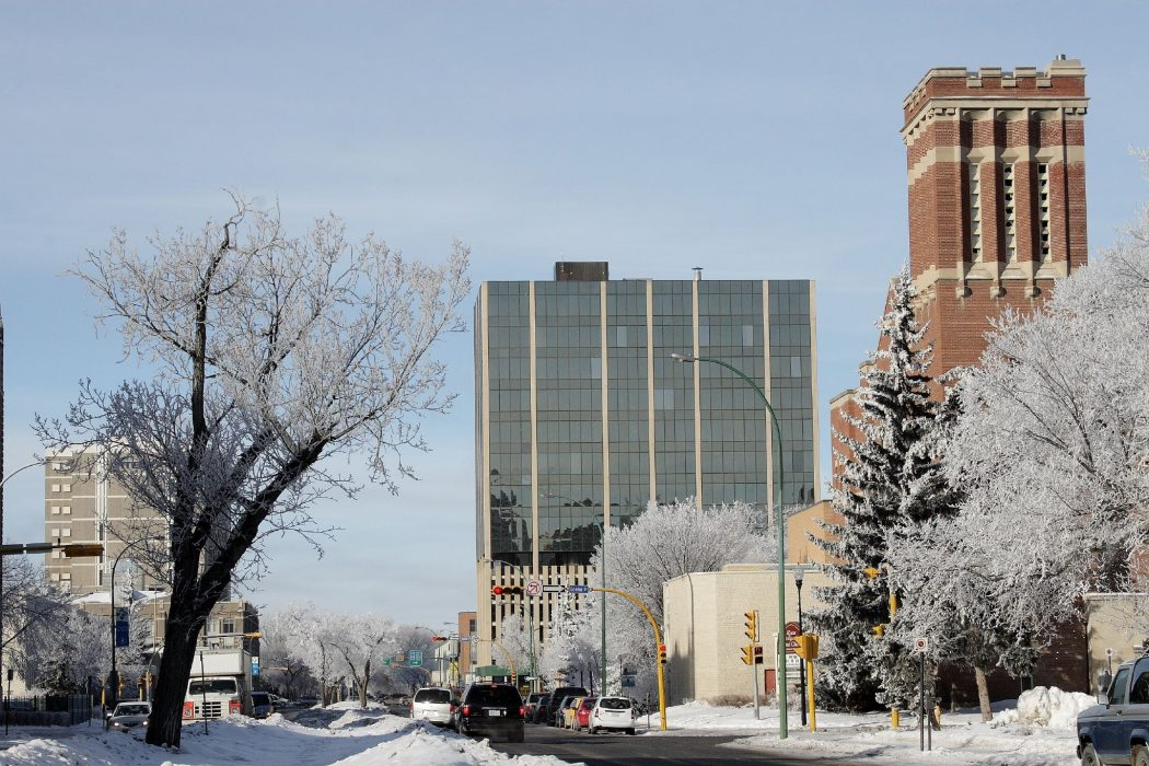 Snowy_Victoria_Ave_Regina_SK Top 10 Best Cities in Canada to Work
