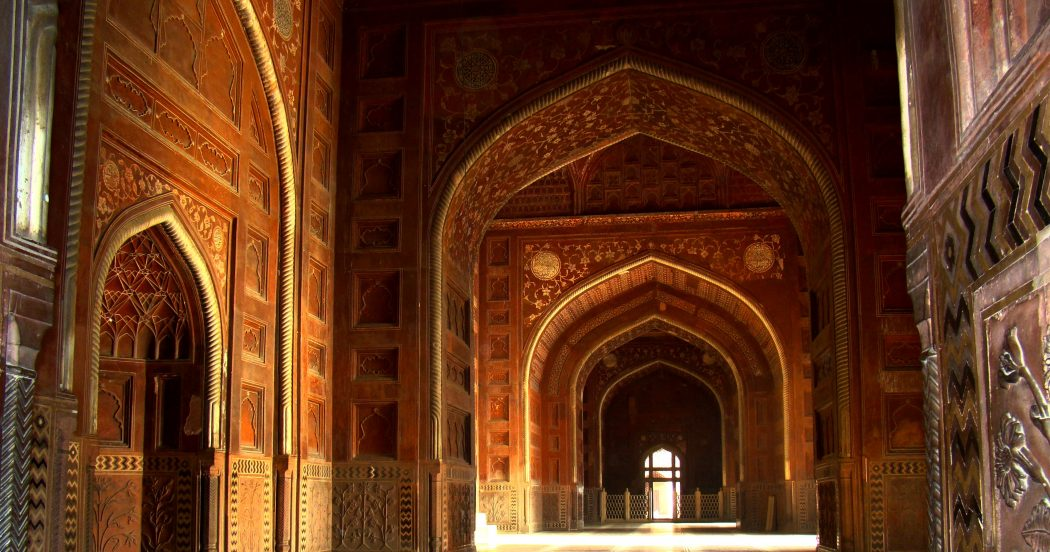Taj_Mahal_Mosque_Interior_Hall Top 10 Most Ancient India Artifacts Ever