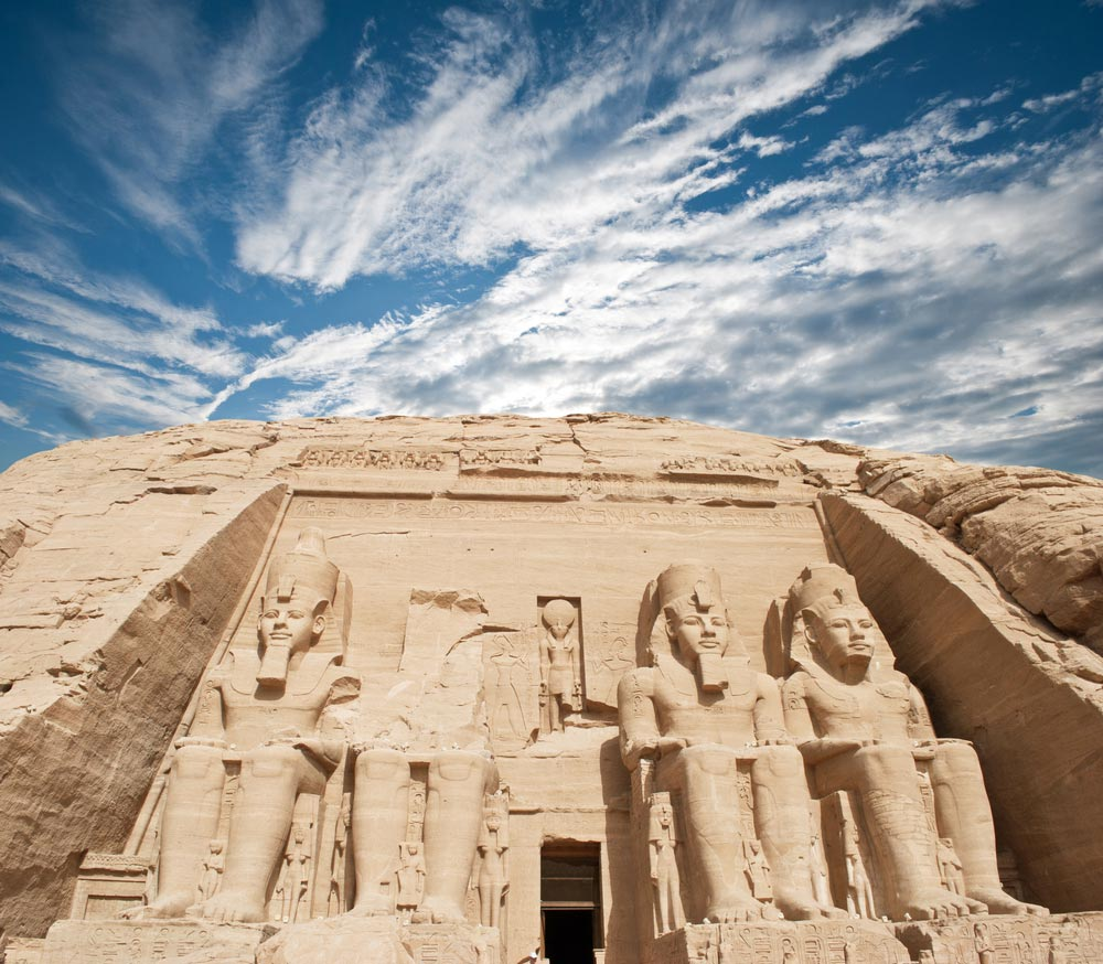 The-temple-of-Abu-Simbel-in-Egypt Top 10 Most Ancient Cities in Arabic Countries