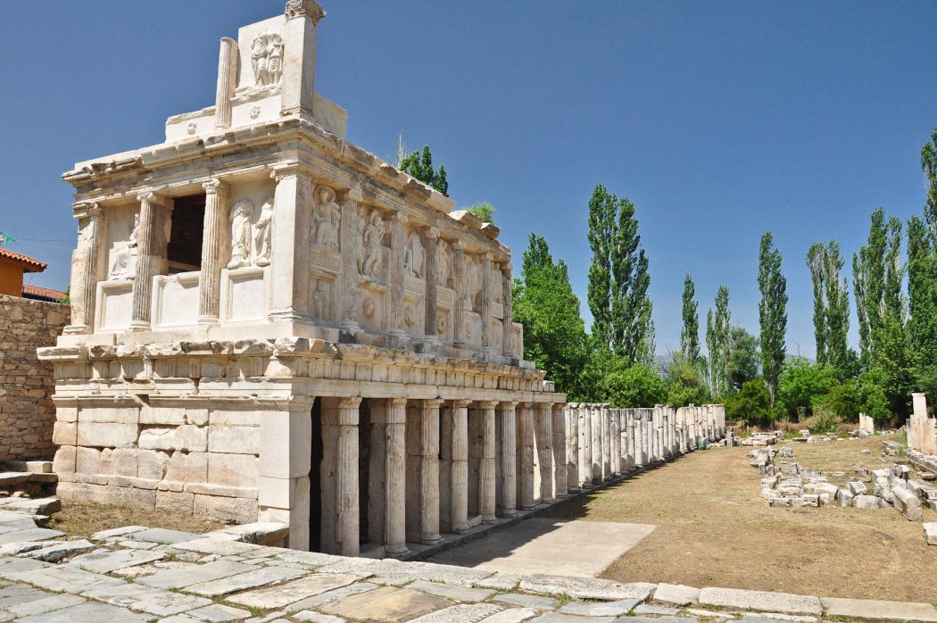aphrodisias-01 Top 10 Most Ancient Ruins in Turkey