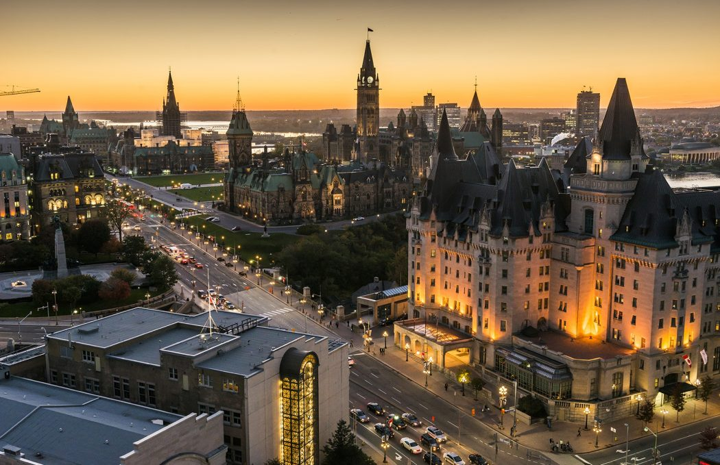 panoramic-view-of-downtown-ottawa-with-parliament-hill_016-credit-ottawa-tourism Top 10 Best Cities in Canada to Work