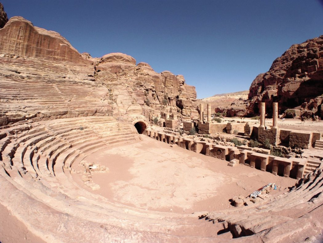 petra-amphitheater Top 10 Most Ancient Lost Cities in the World