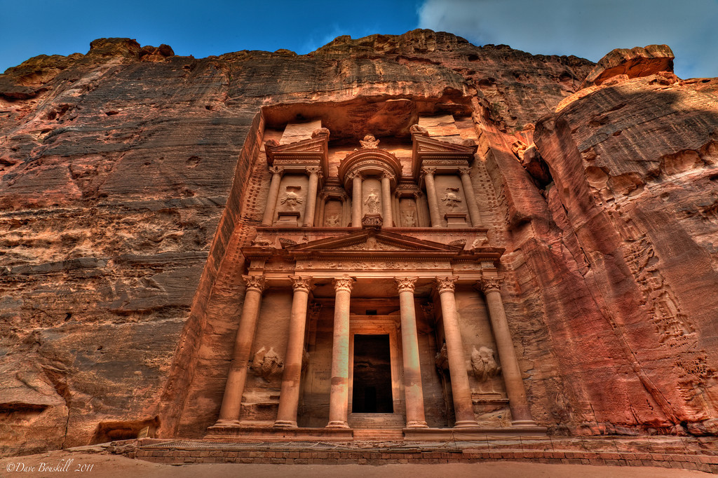 petra-jordan-photos-treasury Top 10 Most Ancient Lost Cities in the World
