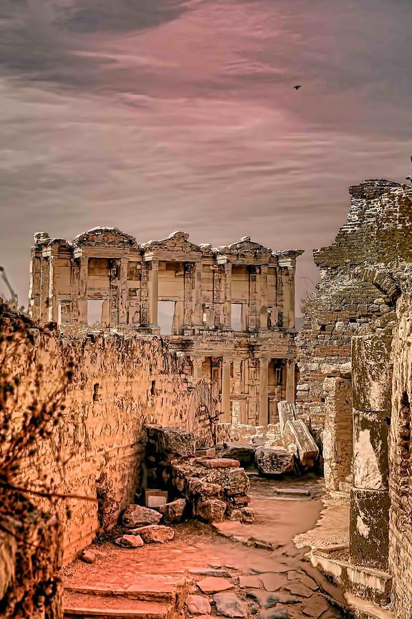 ruins-of-ephesus-turkey-places-ive-been-pinterest Top 10 Most Ancient Ruins in Turkey