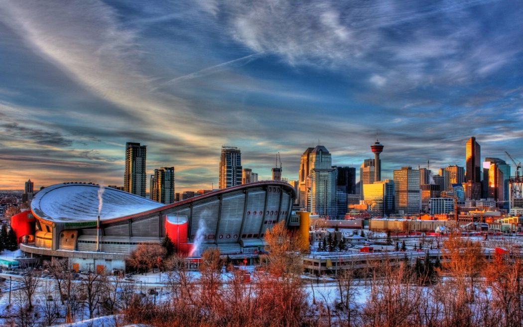 saddledome_calgary_canada_trees_alberta_hdr_hd-wallpaper-1610426 Top 10 Best Cities in Canada to Work