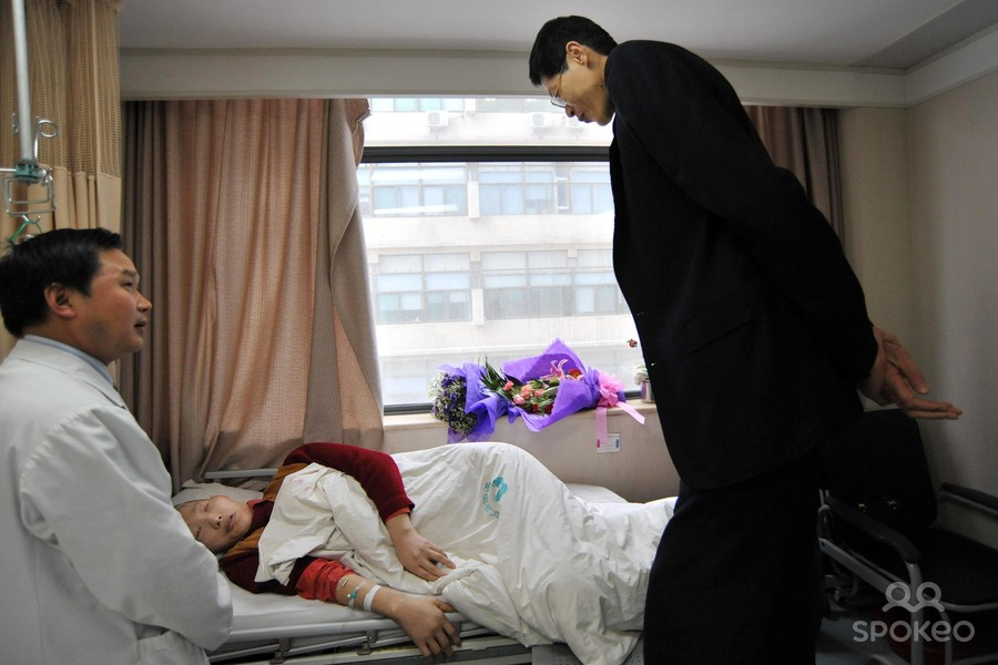 zhang_juncai_2009_04_15 Top 10 Tallest Persons of the World