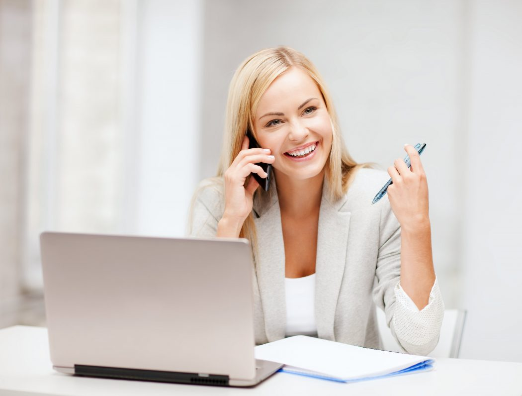 56719434-Syda-Productions-woman-on-phone-with-laptop Top 10 Ways of Managing Deadlines