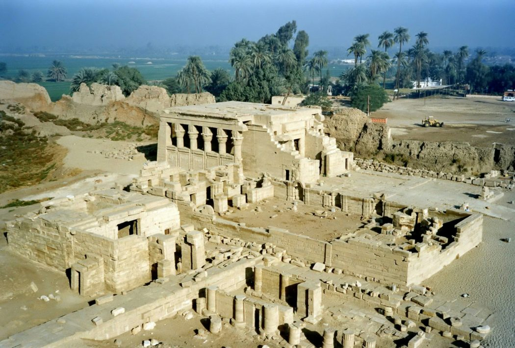 Dendera_Temple Top 10 Most Ancient Cities in Arabic Countries