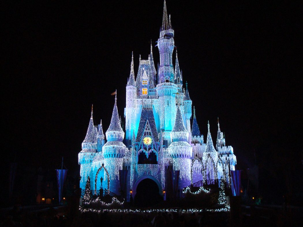 Disney_Orlando_castle_at_night Top 10 Ideas for the Valentine