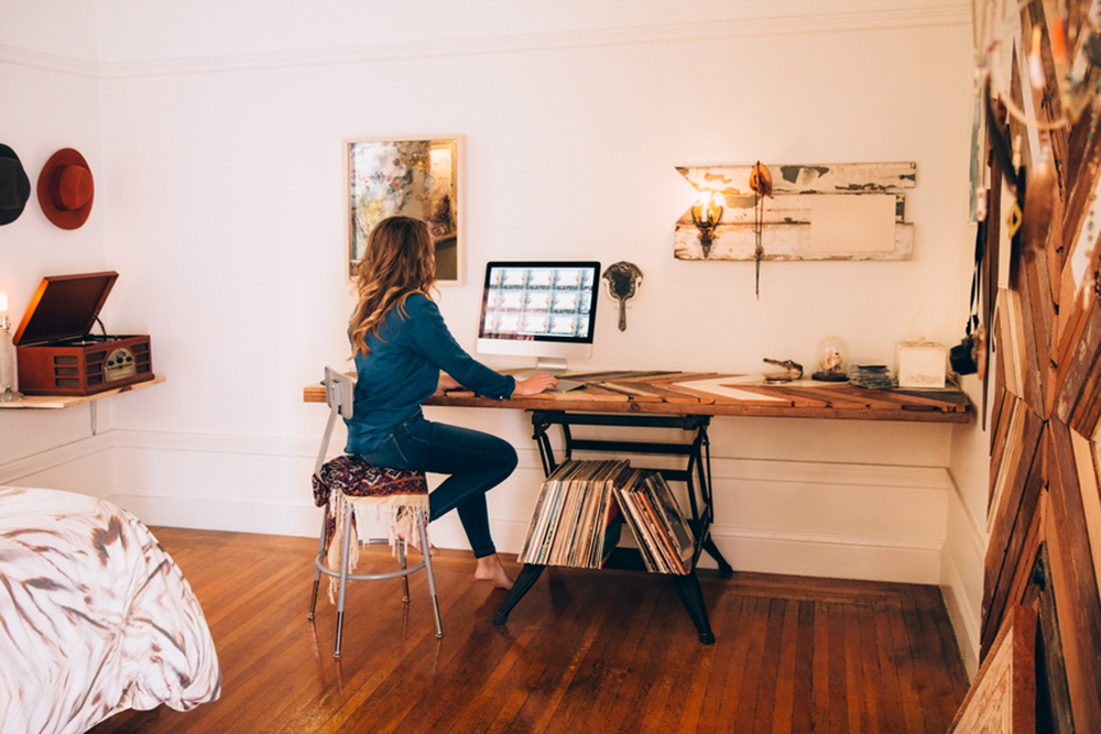 May2015-Trulia-7-Ways-To-Rethink-Your-Underused-Rooms-woman-at-home-office Top 10 Ways of Managing Deadlines