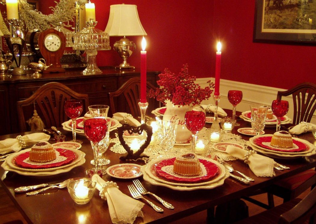 Romantic-Valentine-Tablescape Top 10 Ideas for the Valentine