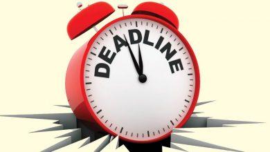 Photo of Top 10 Ways of Managing Deadlines