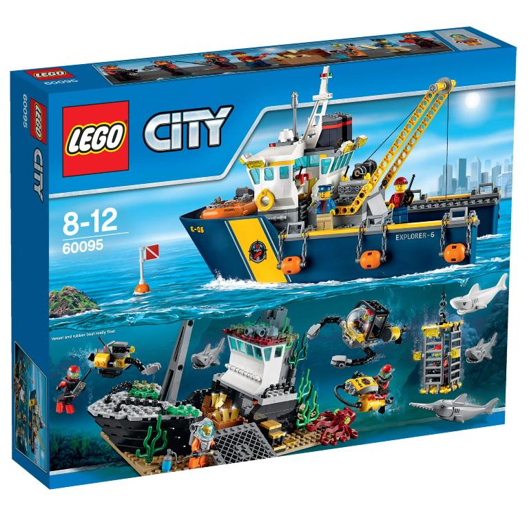 Lego-City-Deep-Sea-Exploration-Vessel 24+ Must Have Christmas Toys for Children in 2019