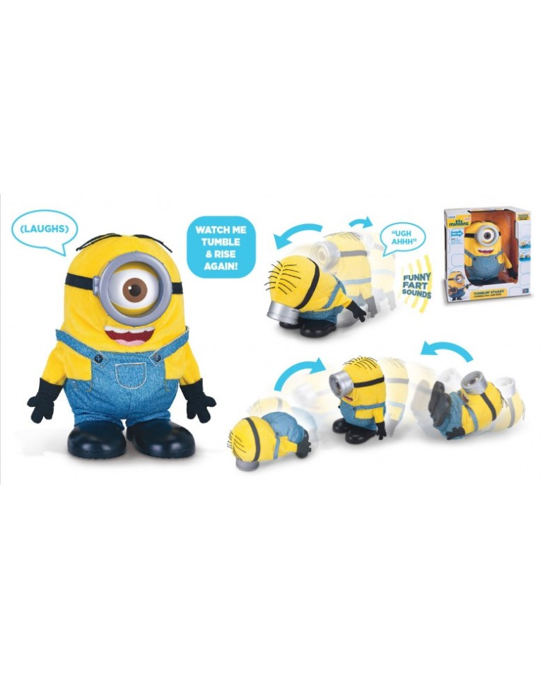 Minions-Tumbling-Stuart 24+ Must Have Christmas Toys for Children in 2018-2019