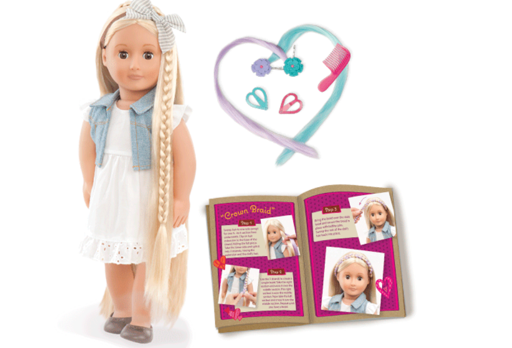 Our-Generation-Hair-Play-Doll-Phoebe 24+ Must Have Christmas Toys for Children in 2018-2019