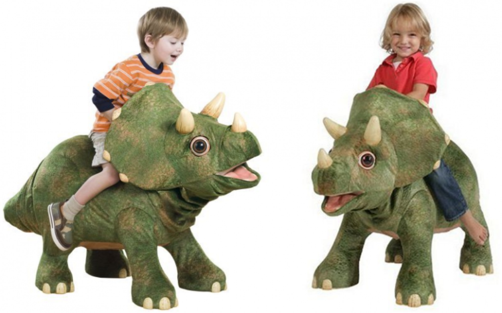 Triceratops-ride-on-dinosaur 24+ Must Have Christmas Toys for Children in 2018-2019