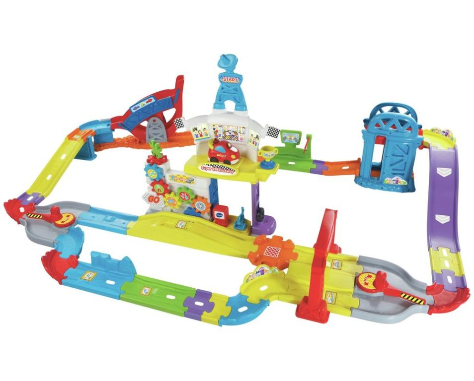 VTech-Toot-Drivers-Super-RC-Raceway 24+ Must Have Christmas Toys for Children in 2020