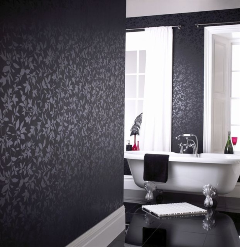 black-rooms-2 The Latest & Hottest Home Decoration Trends in 2017