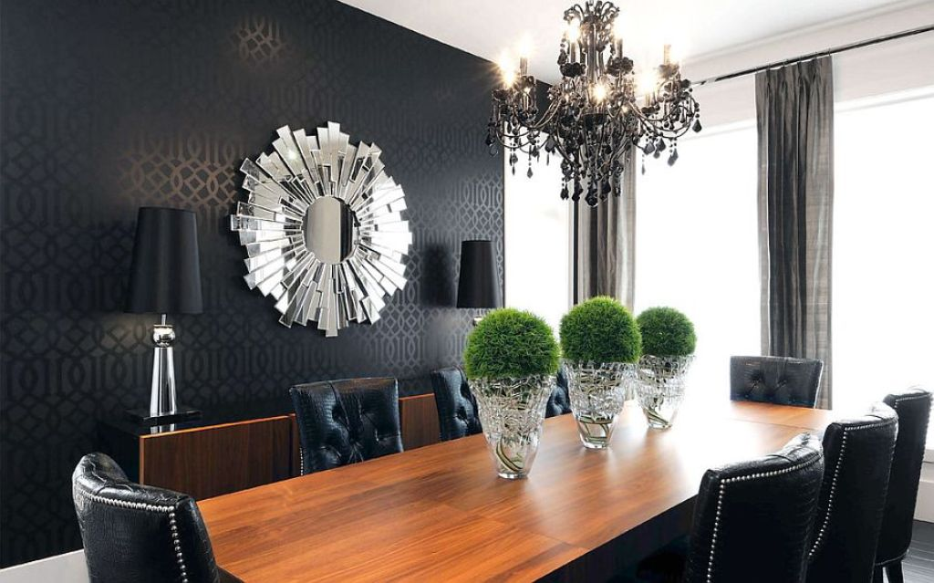 black-rooms-4 The Latest & Hottest Home Decoration Trends in 2017