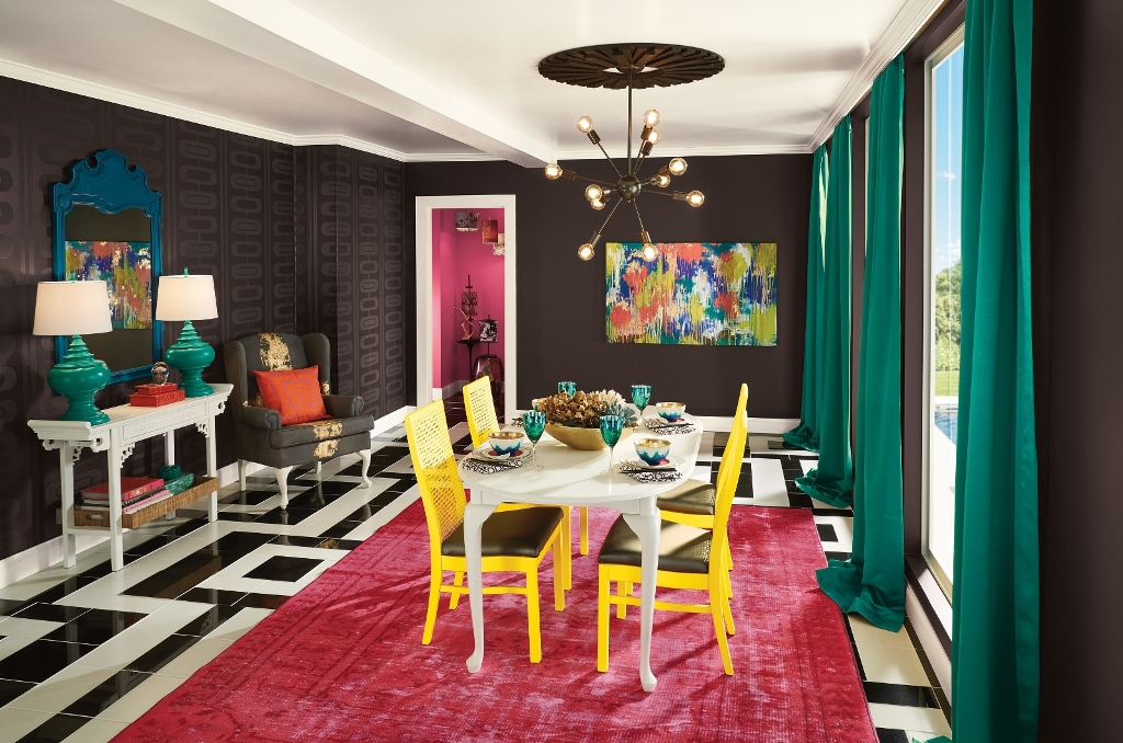 black-rooms-6 The Latest & Hottest Home Decoration Trends in 2017