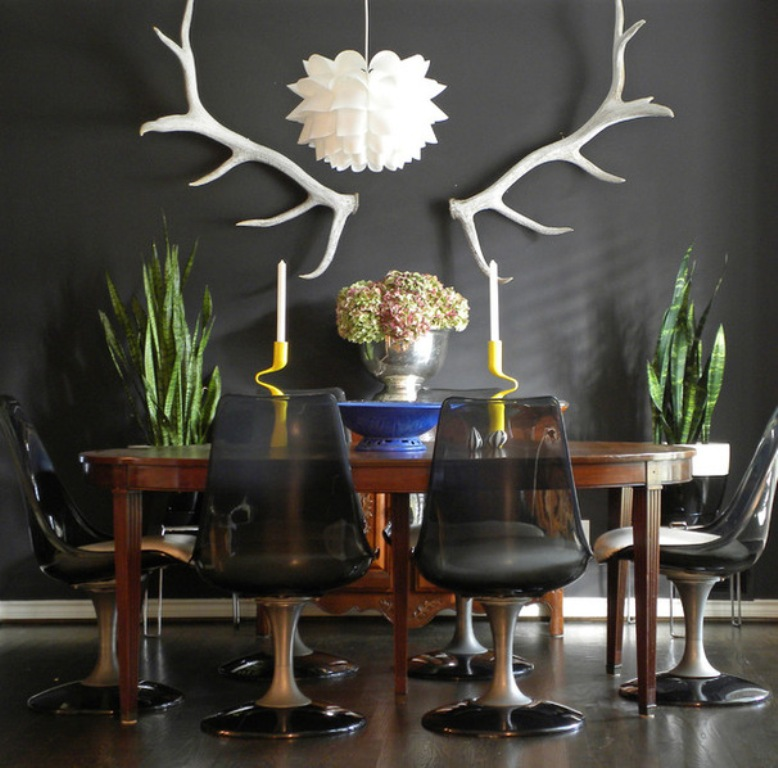 black-rooms-7 The Latest & Hottest Home Decoration Trends in 2017